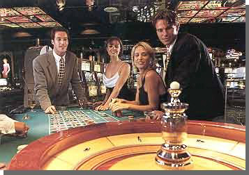 Online gambling system 6 point division roulette
